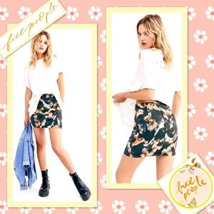 🌻 Free People Modern Femme Novelty Skirt 🌻